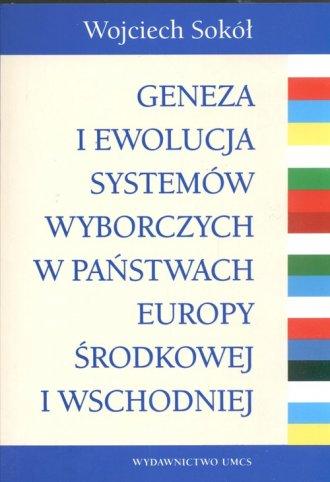 Geneza i ewolucja sytemów wyborczych - okładka książki