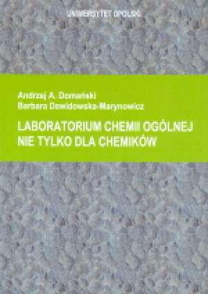 Laboratorium chemii ogólnej nie - okładka książki