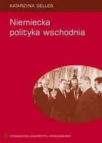 Niemiecka polityka wschodnia - okładka książki