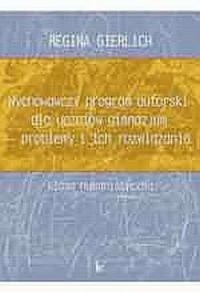 Wychowawczy program autorski dla - okładka podręcznika