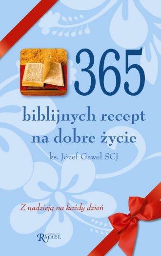 365 biblijnych recept na dobre - okładka książki
