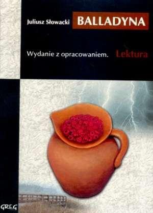 Balladyna. Lektura. Wydanie z opracowaniem - okładka podręcznika