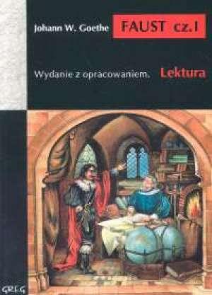 Faust cz. 1. Lektura. Wydanie z - okładka podręcznika