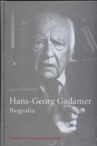 Hans-Georg Gadamer. Biografia - okładka książki
