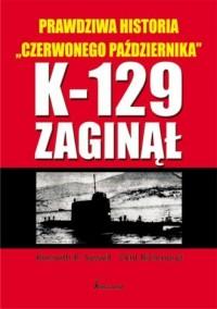 K-129 zaginął - okładka książki