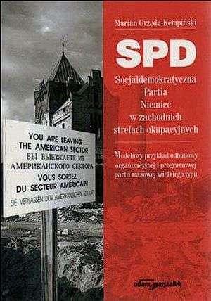 SPD. Socjaldemokratyczna Partia - okładka książki