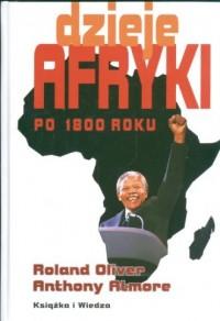 Dzieje Afryki po 1800 roku - okładka książki