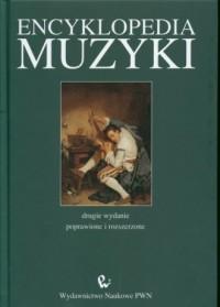 Encyklopedia muzyki - okładka książki