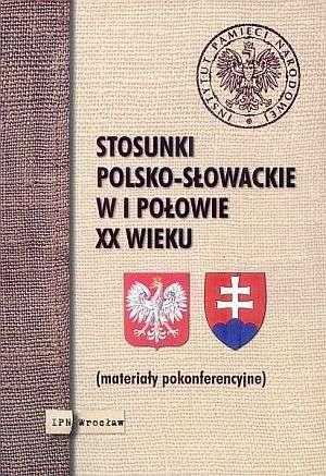 Stosunki polsko-słowackie w I połowie - okładka książki