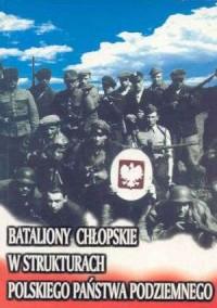 Bataliony Chłopskie w strukturach - okładka książki