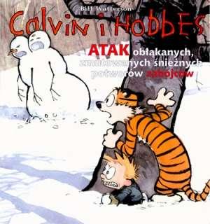 Calvin i Hobbes. Atak obłąkanych, - okładka książki