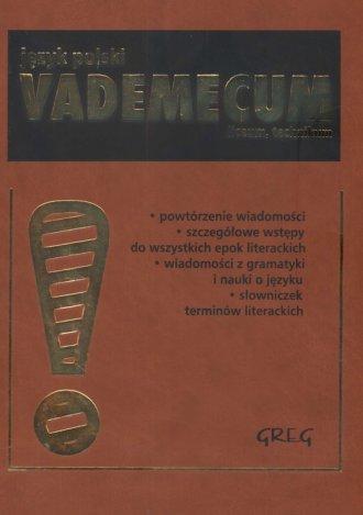 Język polski. Vademecum. Liceum - okładka podręcznika