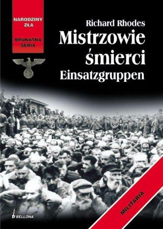 Mistrzowie śmierci Einsatzgruppen. - okładka książki