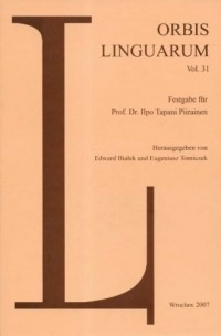 Orbis Linguarum vol. 31(2007) - okładka książki