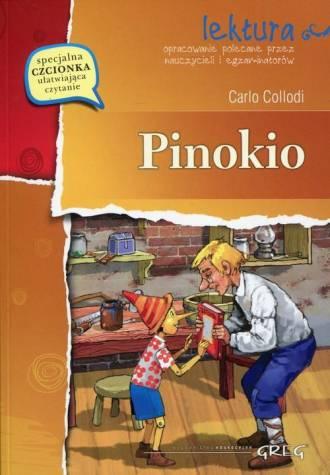 Pinokio. Lektura. Wydanie z opracowaniem - okładka podręcznika