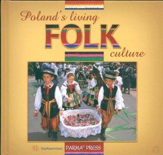 Polski folklor żywy (wersja ang.) - okładka książki