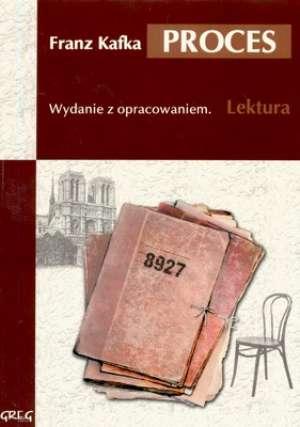 Proces. Lektura. Wydanie z opracowaniem - okładka podręcznika