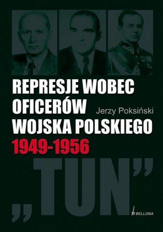 Represje wobec oficerów Wojska - okładka książki