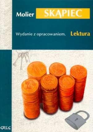 Skąpiec. Lektura. Wydanie z opracowaniem - okładka podręcznika