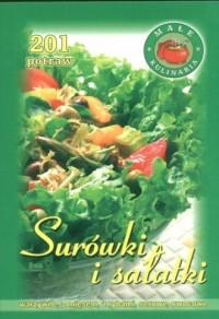Surówki i sałatki. 201 potraw - okładka książki