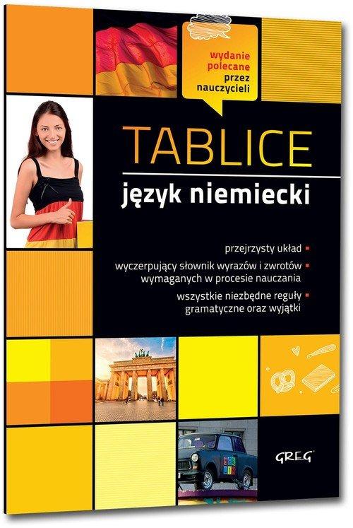 Tablice. Język niemiecki - okładka podręcznika