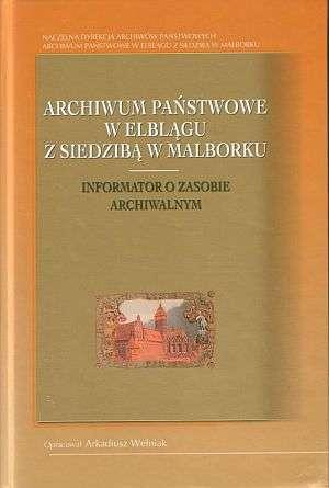 Archiwum Państwowe w Elblągu z - okładka książki