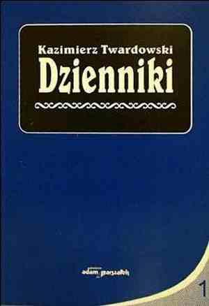 Dzienniki cz. 1 1915-1927 - okładka książki