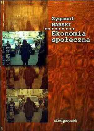Ekonomia społeczna - okładka książki