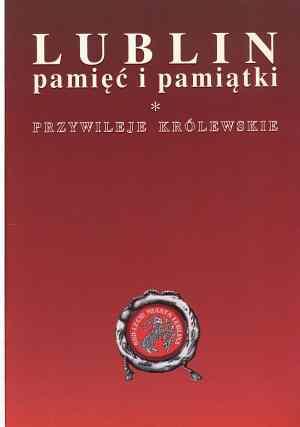 Lublin. Pamięć i pamiątki - okładka książki