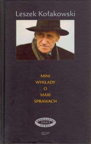 Mini wykłady o maxi sprawach - okładka książki