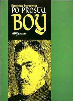 Po prostu Boy - okładka książki