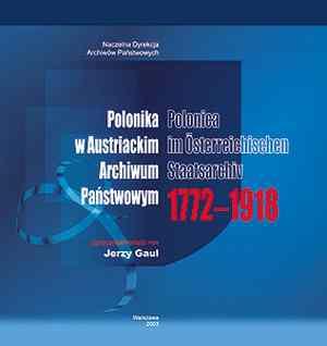 Polonika w Austriackim Archiwum - okładka książki