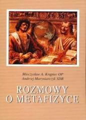 Rozmowy o metafizyce - okładka książki