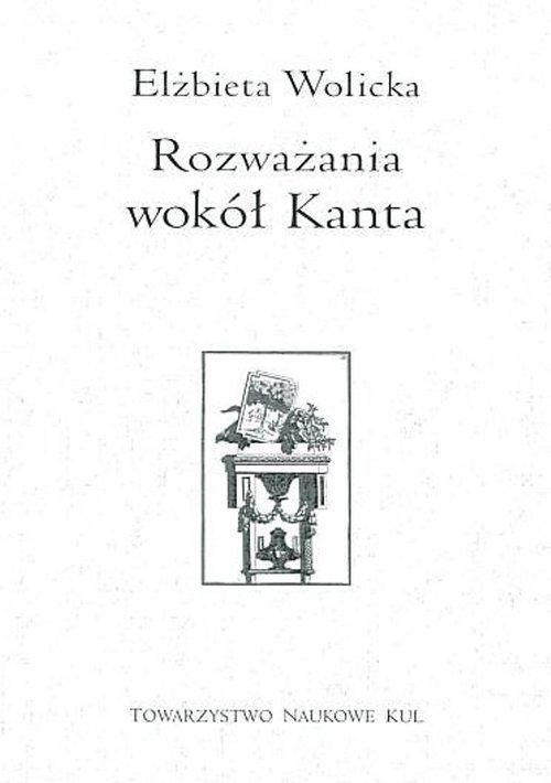 Rozważania wokół Kanta - okładka książki