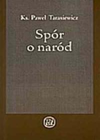 Spór o naród - okładka książki