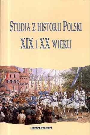 Studia z historii Polski XIX i - okładka książki
