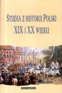 okładka książki - Studia z historii Polski XIX i