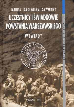 Uczestnicy i świadkowie Powstania - okładka książki