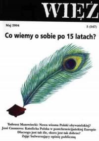Więź nr 5/2004. Maj - okładka książki