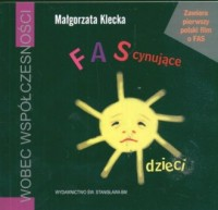 FAScynujące dzieci (książka + płyta VCD) - okładka książki