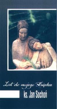 List do mojego Księdza - ks. Jan Sochoń - okładka książki