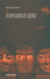 Temperament uwagi - okładka książki