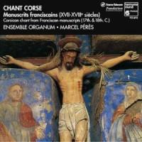 Chant Corse. Manuscrits franciscains (XVII i XVIIIe s.) - okładka płyty