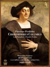 Christophorus Columbus - Paradis Perdus - okładka płyty