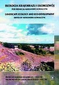 Ekologia krajobrazu i ekorozwój - okładka książki