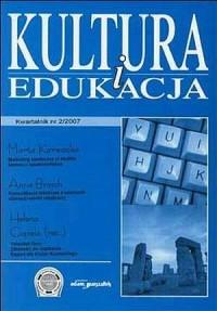 Kultura i edukacja nr 22007 - Wydawnictwo Adam Marszałek - okładka książki