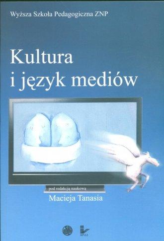 Kultura i język mediów - okładka książki