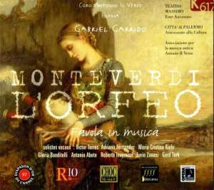 L Orfeo (Orfeusz) (2 CD) - okładka płyty