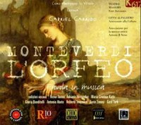 L Orfeo (Orfeusz) (2 CD) - Claudio Monteverdi - okładka płyty