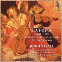 La Folia 1490-1701 - Corelli, Marais, Martín y Coll, Ortiz & Anónimos (CD) - okładka płyty